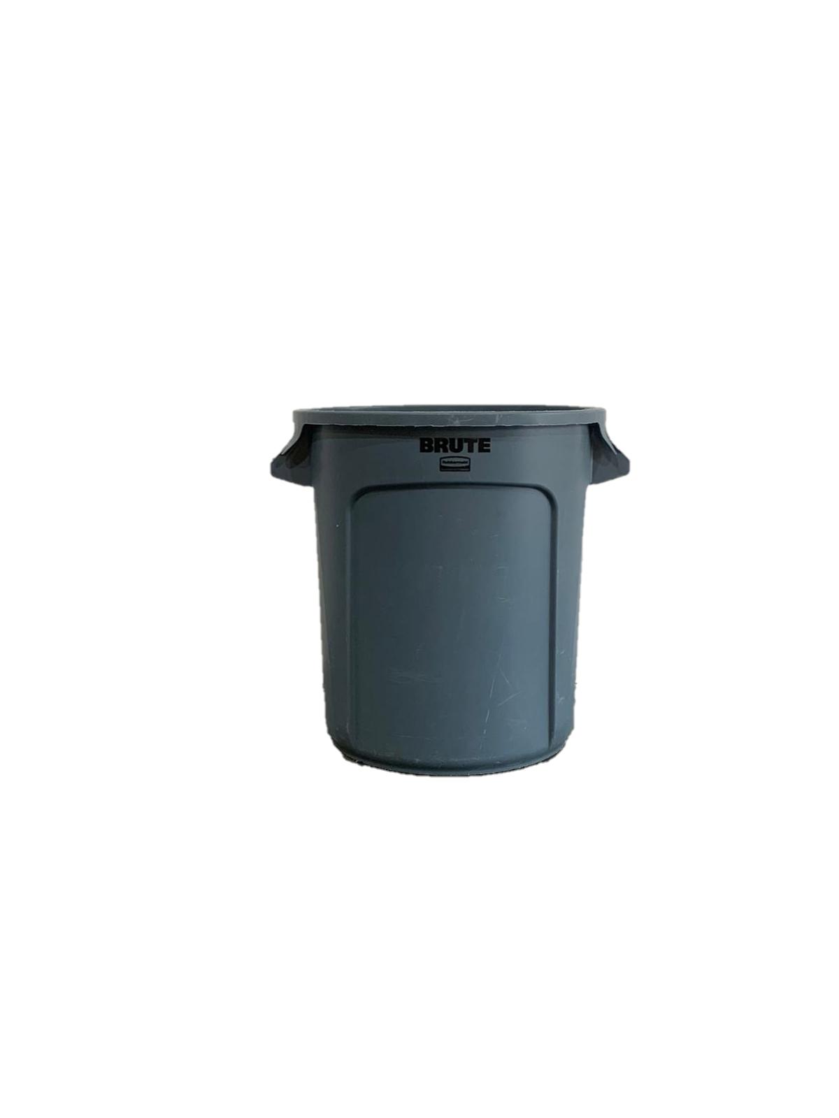 Afvalbak grijs 38L